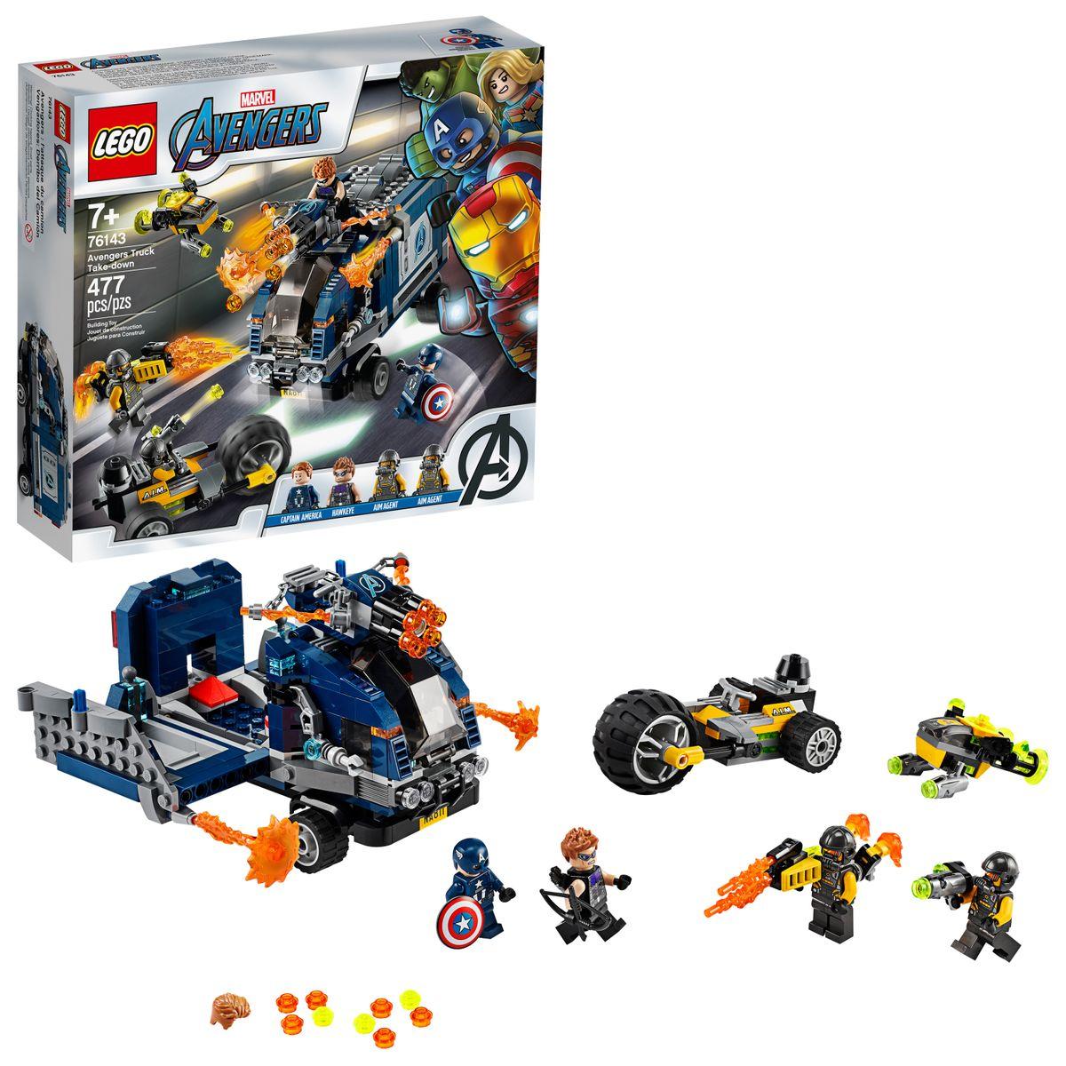 毎日激安特売で 営業中です 送料無料 LEGO レゴ マーベル アベンジャーズ キャプテン 即日出荷 ホークアイ 海外直送 477ピース アメリカ 76143