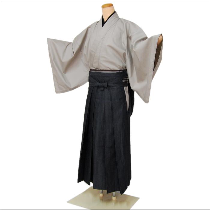 メンズ袴(はかま) 紳士用 デニム地 袴(はかま) IKS deux