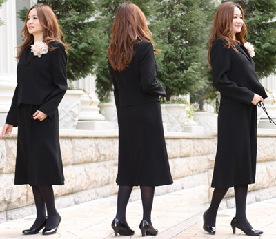 """Nadeshiko"" stitched with black formal seats set ensemble [] [zu] 753 *"