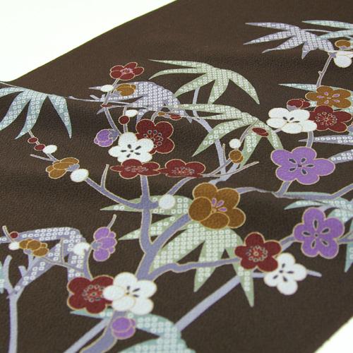 Pure silk fabrics crepe 9 sun dyeing Nagoya style sash cloth