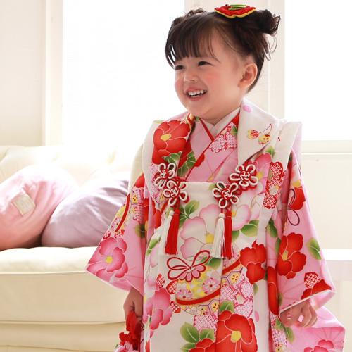 七五三のお祝いに、3歳女子のおすすめの着物、和小物は?