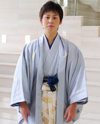 【レンタル】 男物紋付羽織袴 レンタル14点フルセット 成人式 卒業式 結婚式 卒業式 袴 レンタル 男