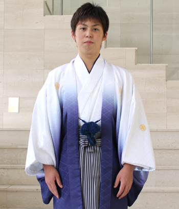 【レンタル】 紋付羽織袴 レンタル14点フルセット 成人式 卒業式 結婚式 袴 レンタル 男