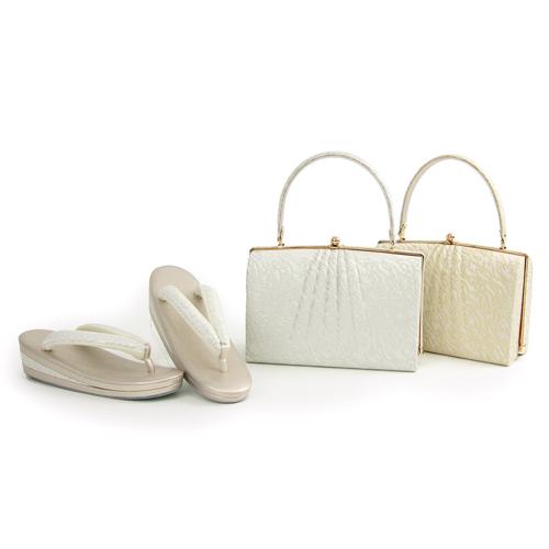 日本製 草履バッグセット 「ローブデコルテ Eタイプ」 S~3Lサイズ対応 留袖 訪問着 礼装 フォーマル セミフォーマル 結婚式〔zu〕