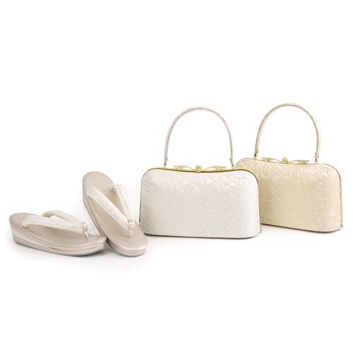 日本製 草履バッグセット 「ローブデコルテ Iタイプ」 S~3Lサイズ対応 留袖 訪問着 礼装 フォーマル セミフォーマル 結婚式〔zu〕