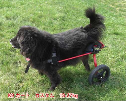 K-9カスタム車椅子(2輪) 体重18.1~30kg用 ペット 介護用品【送料無料】 老犬 高齢犬 わんケア 犬用 車イス 車いす ペットグッズ 犬用カート バギー 歩行器 犬 介護 老犬 高齢犬 ペット リハビリ