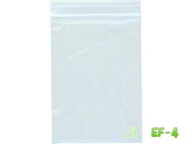 ユニパック バイオ EF-4 170×120×0.04mm1ケース4,000枚(1袋100枚×40袋)バイオマスマーク取得・石油資源節約