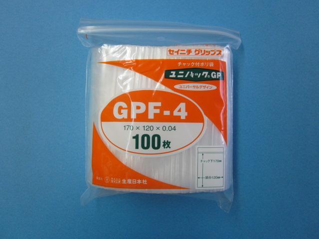 ユニパック GPF-4 1ケース4,000枚 (100枚×40袋)