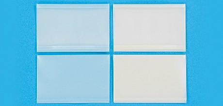 パールソフト カードケース 窓付ブルー 1ケース5,000枚 (100枚×50袋)