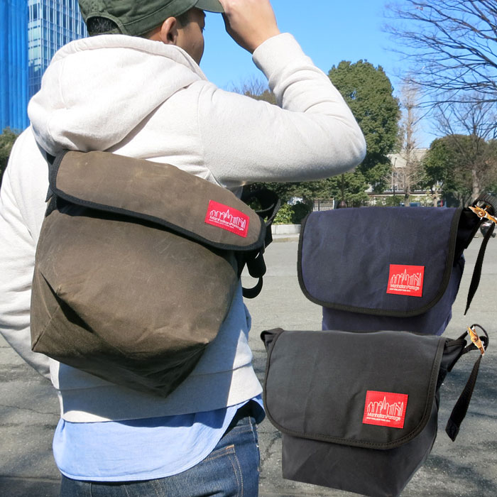 8a73c08baf70 Manhattan Portage Waxed Canvas Messenger (MP1605V). マンハッタンポーテージ is a bag  brand born in New York