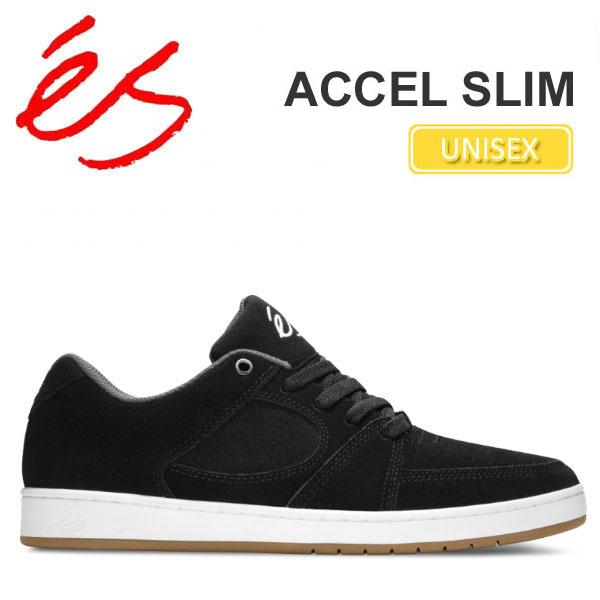 【正規取扱店】エス 'es アクセル スリム[ブラック/ホワイト]ACCEL SLIM メンズ レディース【靴】 snk_11607E(wannado)