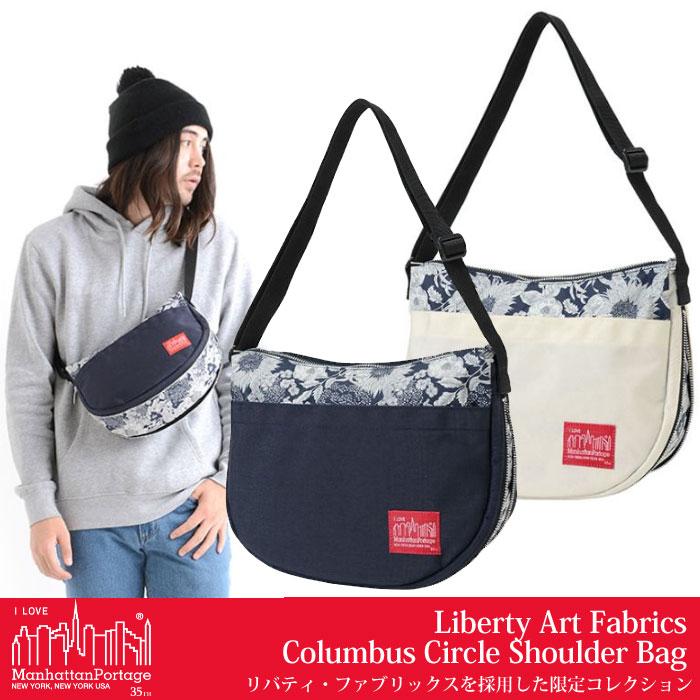 2d0c90be031d ... 原宿 Manhattan Portageリバティ コロンバスサークルショルダーバッグ  全2色 (MP6053LBTY18SS)Liberty  Art Fabrics Columbus 時計 グラミチ Circle Shoulder Bag ...