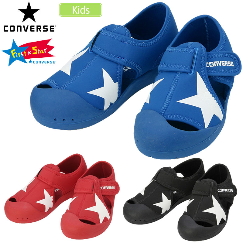 SALE 40% OFF Converse sandals CONVERSE kids CV star sandals (16 22cm) KID'S CVSTAR SANDAL sdl 1905wannado 2020sale during the super SALE limited