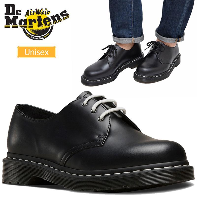 【正規取扱店】ドクターマーチン Dr.Martens 1461Z ホワイトウェルト 3ホールシューズブラック(24757001 23-29cm)CORE WHITE WELT 3EYE SHOE メンズ レディース【靴】 1911wannado