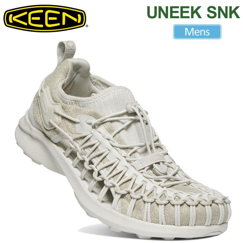 【正規取扱店】キーン KEEN メンズ スニーカー サンダル ユニークスニーク UNEEK SNK シルバーバーチ 25-29cm 1022384 20SS snk【靴】2004wannado