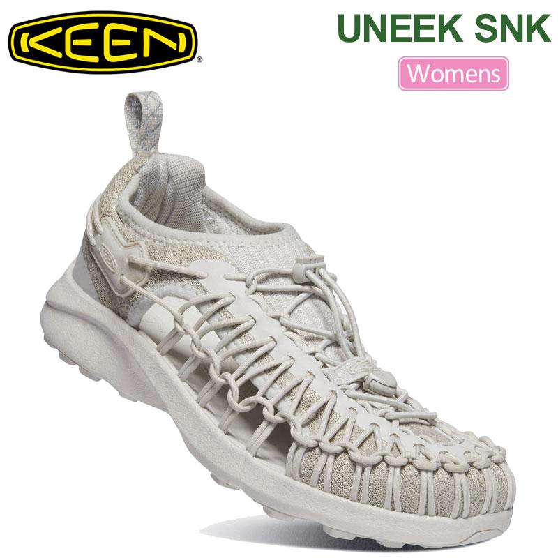 【正規取扱店】キーン KEEN レディース スニーカー サンダル ユニークスニーク UNEEK SNK シルバーバーチ 22.5-25cm 1022410 20SS snk【靴】2004wannado