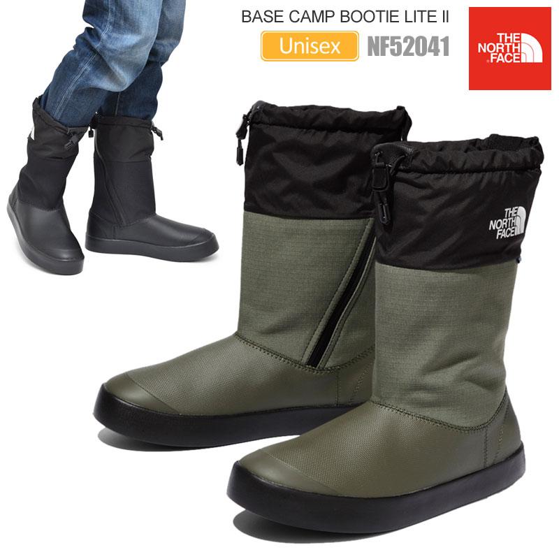 【正規取扱店】ノースフェイス THE NORTH FACE 防水 レインブーツ メンズ レディース ベースキャンプブーティライト2 ブラック ニュートープ 23-28cm Base Camp Bootie Lite II NF52041 20SS【靴】2003wannado