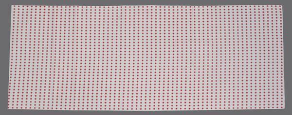 昔ながらの豆絞りを安価な染色方法で染めた手ぬぐいです。 豆絞り手ぬぐい「赤」祭り手拭いの定番!晒生地よりちょっとあら目生地なのでマスク作りにも最適です。