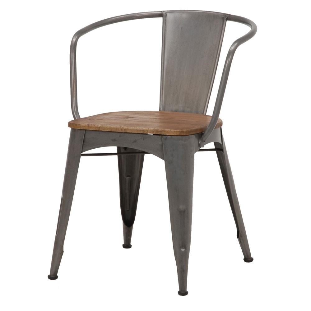 【LIBERTA アジャスター+肘掛付きチェア2脚セット】《W:53.5×D:59×H:75×SH:45》(インダストリアル 家具 インダストリアル 送料無料 北欧 レトロ シャビー シンプル 北欧風スタイルのお洒落な椅子 チェア チェアー いす 椅子 イス おしゃれ インテリア)