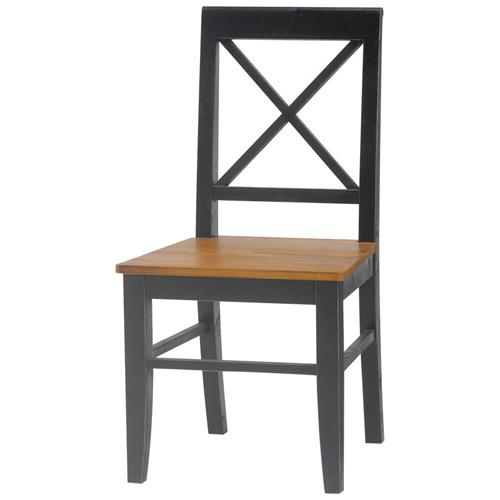 【BROCANTE アンティーク調シンプルチェア(ブラック)】《W:45.5×D:49×H:90×SH:43》(送料無料 北欧 レトロ シャビー シンプル 北欧風スタイルのお洒落な椅子 チェア チェアー いす 椅子 イス おしゃれ インテリア)