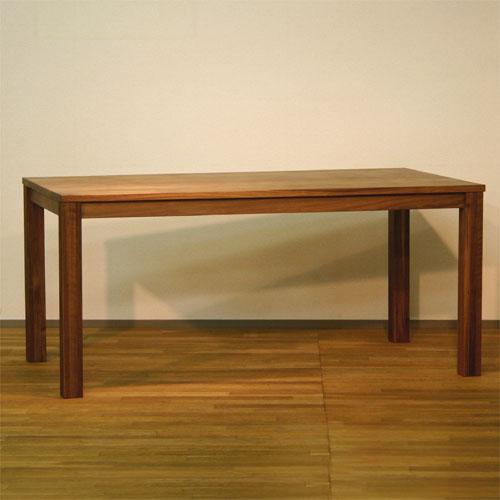 ダイニングテーブル 幅120cm~200cm 高さ65cm~74cm ウォールナット材 食堂テーブル 無垢材 北欧 和モダン デザイン デザイナー おしゃれ 人気 手作り diy 木製 天然木 日本製 国産 モダン ナチュラル シンプル 家具職人 家具メーカー