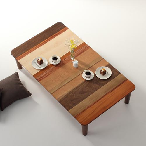 ローテーブル 幅120cm~幅180cm 各種無垢材 モロッコ カラフル 楽しい リビングテーブル センターテーブル ソファーテーブル 和モダン 和風モダン 北欧 おしゃれ おすすめ 日本製 国産 デザイン デザイナー 木製 天然木 家具職人 diy 長方形 ナチュラル モダン