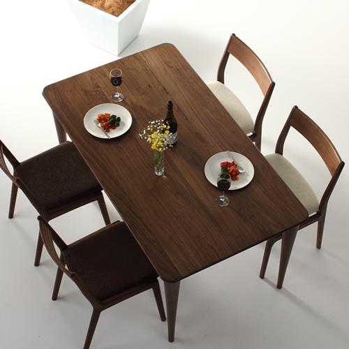 ダイニングテーブル 幅90cm~180cm 高さ65cm~74cm ウォールナット材 食堂テーブル 無垢材 北欧 和モダン デザイン デザイナー おしゃれ 人気 手作り diy 木製 天然木 日本製 国産 モダン ナチュラル シンプル 家具職人 家具メーカー