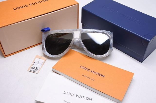 ◆[USED/中古]◆送料無料◆】【新品同様】Louis Vuitton ルイヴィトン サングラス シェルビー  Z1248E ヴァージル 20SS 箱付き 新品同様 17746【中古】