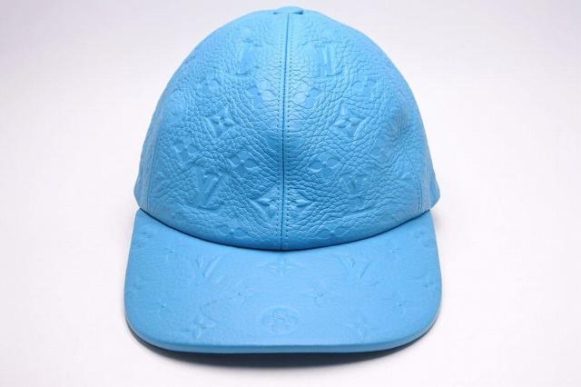 ◆[USED/中古品]◆送料無料◆【中古】LOUIS VUITTON ルイヴィトン キャスケット 1.1 帽子 キャップ CAP トリヨンレザー ターコイズ 希少カラー 中古 19096
