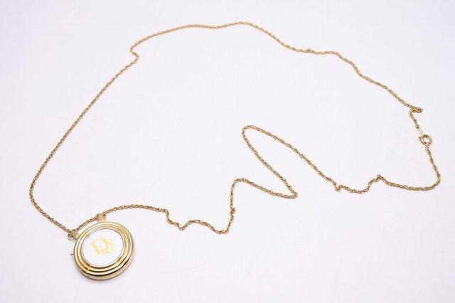 ◆[USED/中古]◆送料無料◆【中古】Christian Dior ディオール デジタル ネックレス 時計 ヴィンテージ ゴールド 希少 中古 19617【中古】