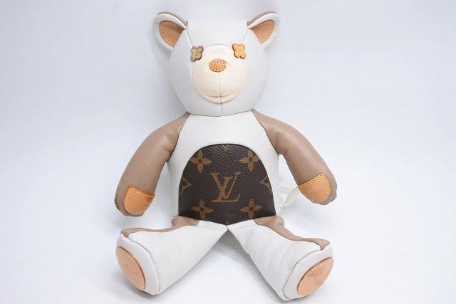 ◆[USED/中古]◆送料無料◆【美品】ルイヴィトン クマ ドゥドゥ ルイ テディベア  GI0142 完売品 20407 レア 人形◆ 【中古】