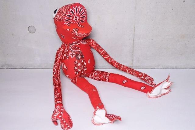 ◆[USED/中古]◆送料無料◆【未使用】READY MADE レディメイド FROG MAN フロッグマン カーミット USヴィンテージバンダナ 人形 未使用 20428◆ 【中古】