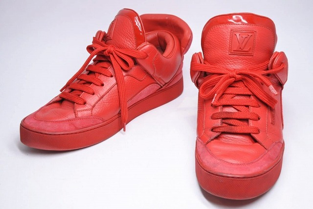 ◆[USED/中古]◆送料無料◆【中古】LOUIS VUITTON × KANYE WEST ルイヴィトン × カニエウエスト DONS SNEAKER ドンズ スニーカー 靴 7 中古 20599 ◆ 【中古】
