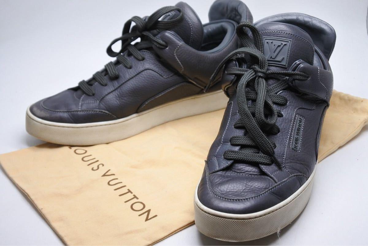 USED 中古 送料無料 LOUISVUITTON×KANYE WEST 人気ブランド多数対象 ルイヴィトン×カニエウエストDONS SNEAKER スニーカー 買物 ドンズ G0 0069 2 靴 1 7 中古9374