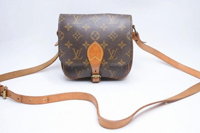 USED 中古 送料無料 激安通販専門店 Louis Vuitton ルイヴィトン 買い取り 91年 モノグラム ショルダーバッグ M51254 22046 ヴィンテージ ミニカルトシエール