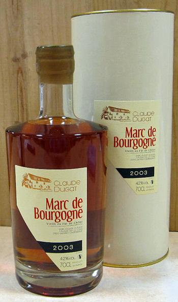 マール・ド・ブルゴーニュ 700ML[2003]クロード・デュガ
