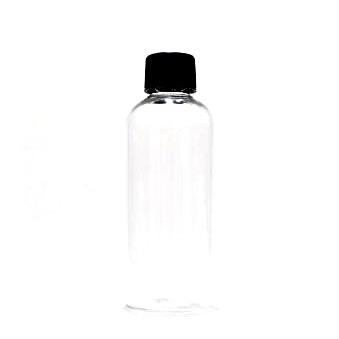 スタンダードなスクリューキャップ プラスチック容器 国内在庫 スクリューキャップ:ブラック セール商品 100mL