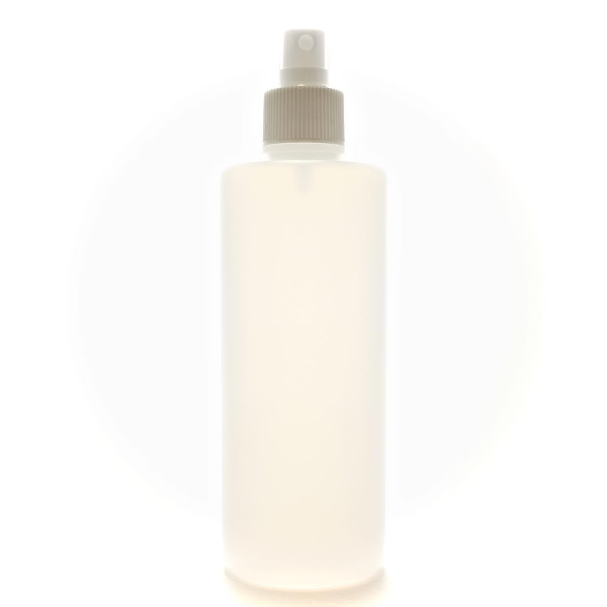 スプレーボトル 300mL 半透明 ストレートボトル【ホワイトフィンガースプレー】【190個入り/ロット 送料無料】