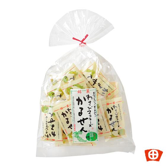 出群 軽い口当たりのピリ辛おやつ わさび 田丸屋静岡 超特価SALE開催 わさびマヨネーズかるせん