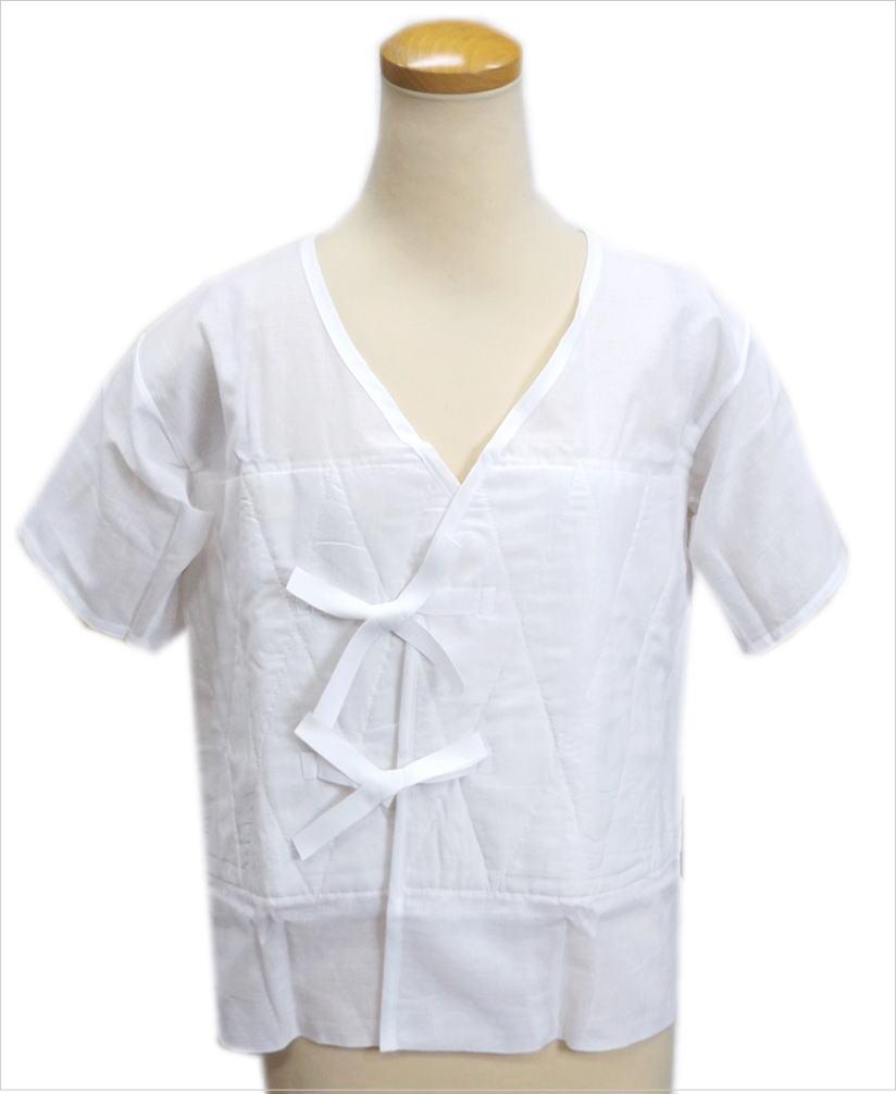 燈芯あしべ織汗取り補正肌着(肌襦袢)大きいサイズLL(日本製) 着物和装下着インナー