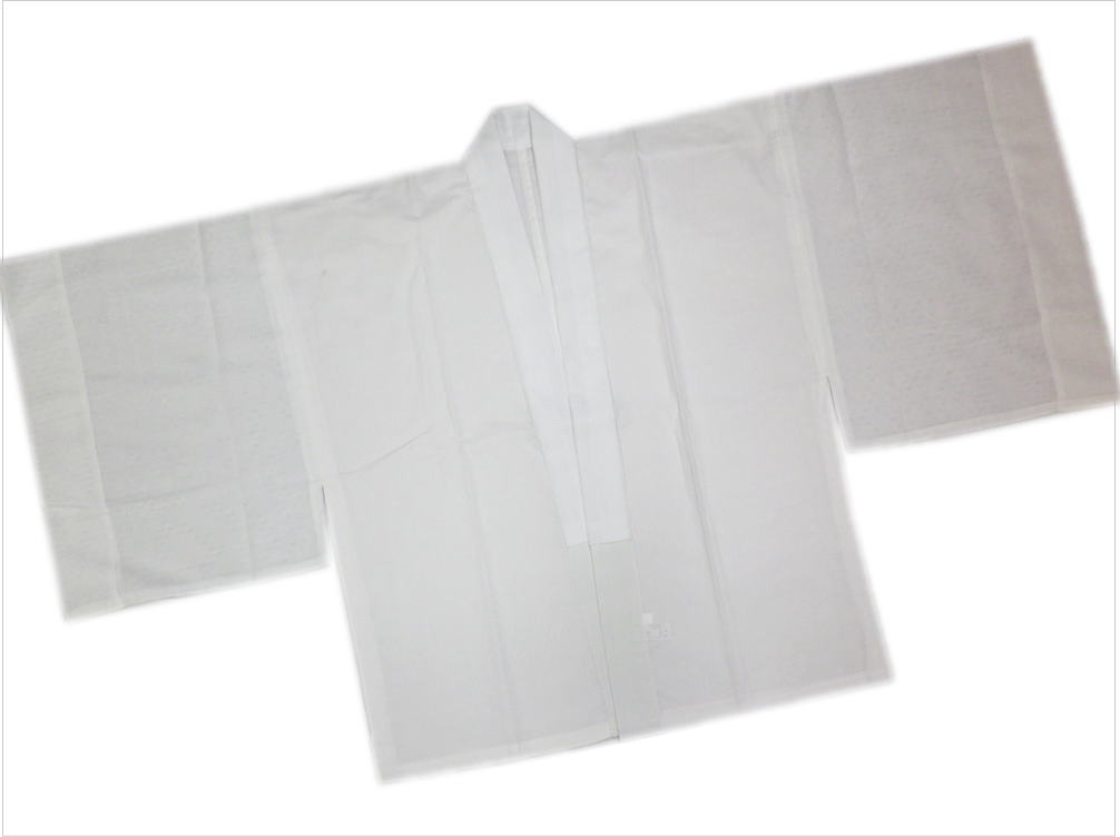 メンズ男物男性夏用 絽 紋紗 麻混 洗える半襦袢白M・L 夏物和装着物浴衣下着QdtshCrx