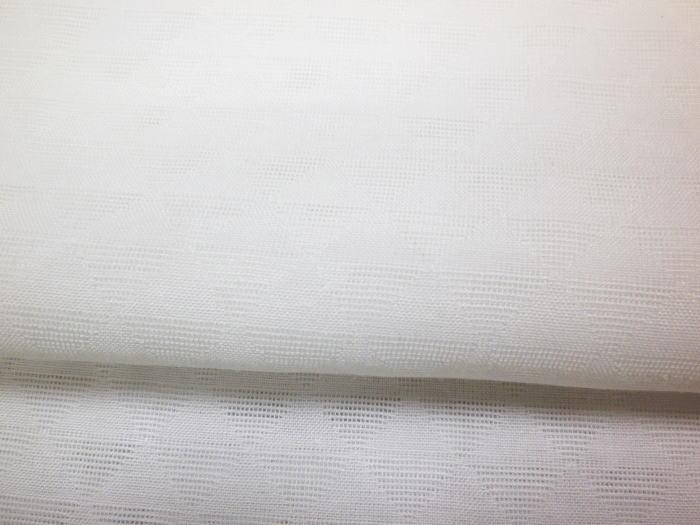 メンズ男物男性夏用 絽 紋紗 麻混 洗える半襦袢白M・L 夏物和装着物浴衣下着CrdexBo