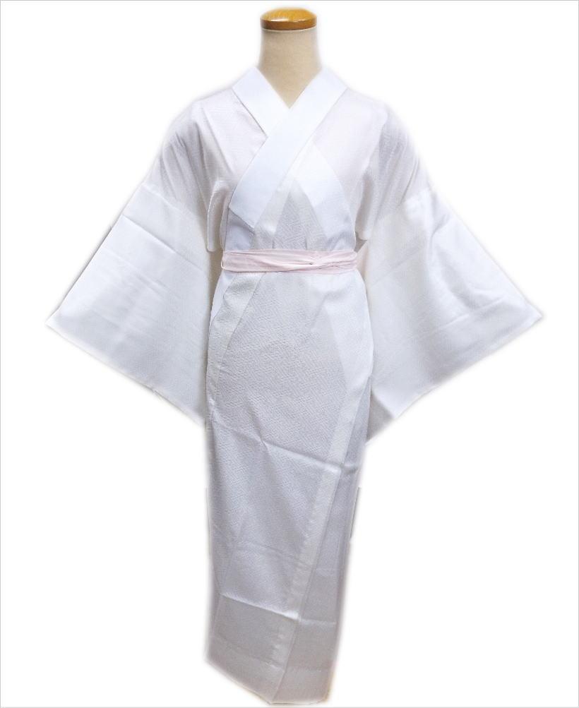 長襦袢 長地袢 正絹 お仕立上がり 白 S M L LL 日本製 留袖 結婚式 訪問着 喪服 和装 着物 下着 女性用 レディース