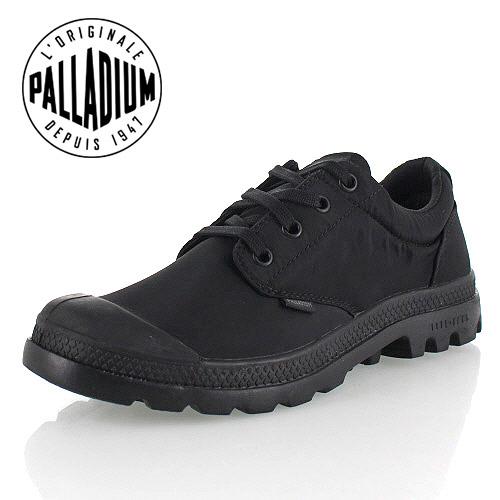 パラディウム PALLADIUM PAMPA OX PUDDLE LITE WP 75427-060-M 75427 BLACK/BLACK レインシューズ スニーカー 黒 メンズ 防水