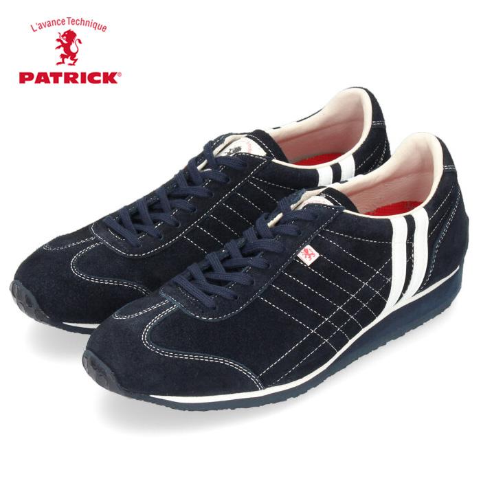 PATRICK パトリック IRIS-VR 528892 アイリス ベロア NVY ネイビー 男性 メンズ 女性 レディース 靴 スニーカー 本革 日本