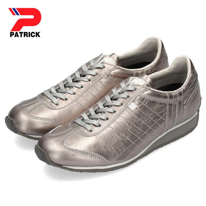 パトリック スニーカー パミール メタリック ゴート PATRICK PAMIR-M GT SLV 501664 シルバー レディース 靴 日本製 本革
