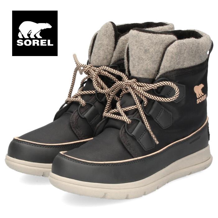 ソレル SOREL NL3421 026 レディース ブーツ ソレルエクスプローラーカーニバル グレー スノーブーツ 防水性 保温 軽量 耐久性 弾力性 柔軟性 セール