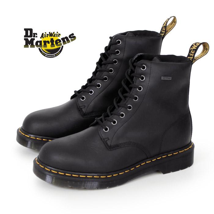 ドクターマーチン Dr.Martens 25280001 ウォータープルーフ 防水 撥水 ブーツ 8ホール 1460 WP 黒 ブラック