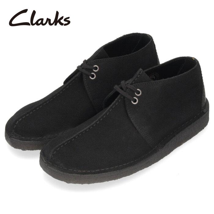 クラークス Clarks メンズ デザート トレック Desert Trek 972E ブラックスエード 黒 レースアップ シューズ 革