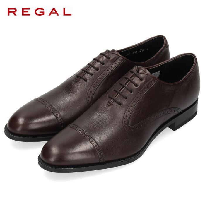 リーガル REGAL 靴 メンズ 男性 ビジネスシューズ 31URBB ダークブラウン ストレートチップ 紳士靴 日本製 本革